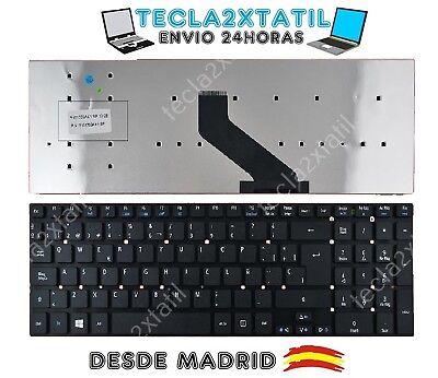 TECLADO para Acer Aspire E1-572G SP ESPAÑOL NEGRO NUEVO KEYBOARD BLACK