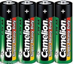 100 x Camelion AA R6 Mignon Batterie Super Heavy Duty Grün lose 1,5V