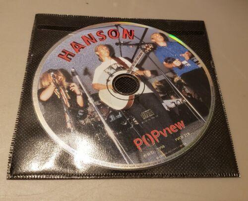 Hanson MM Talk - UK Pop View Interview DISC ONLY