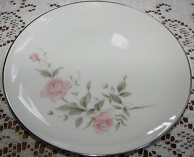 """Vintage Barker Bros. Japan 6 3/8"""" Bread & Butter Plate Pink Flowers 63-5827"""