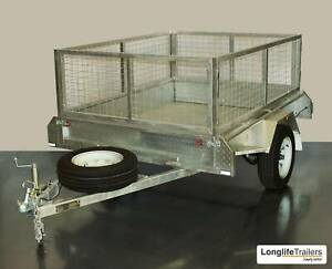8x5 Trailer = $1349 cage = $240 advertised price = $1589