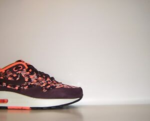 Womens 2014 Nike Air Max 1 LIB Premium Liberty Of London QS Sz 5.5 SP 540855-600