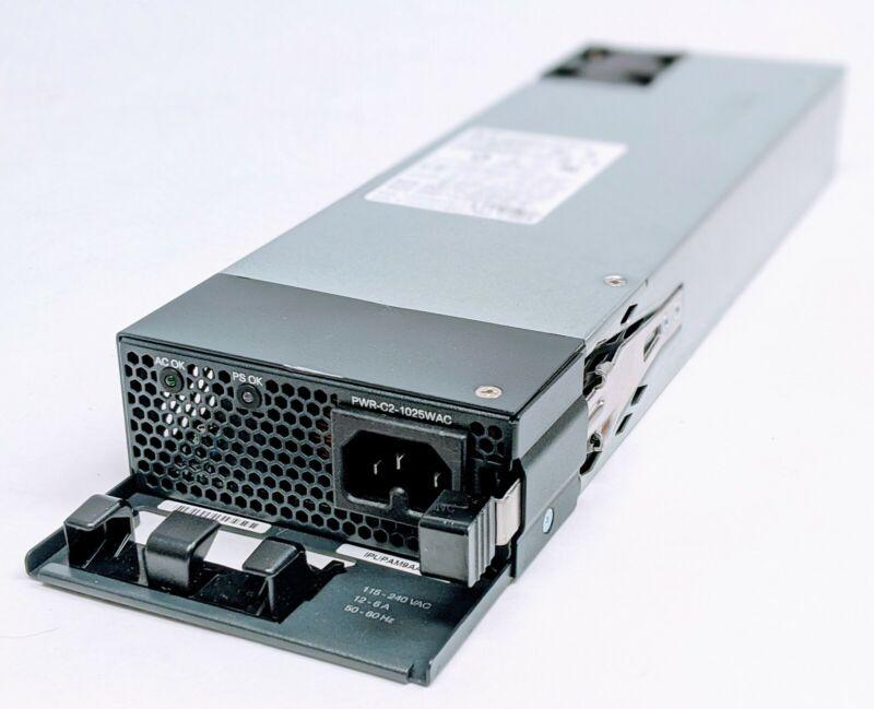 Cisco Catalyst 1025W AC Power Supply PWR-C2-1025WAC for 2960XR 2960X 3650 Switch