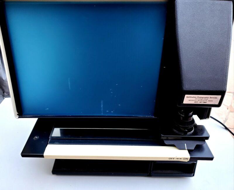 Rare Realist Microform Reader 3352 Microfilm Image Enlarger vintage computer.