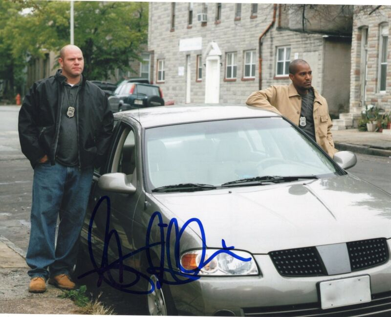 Seth Gilliam Sgt. Ellis Carver The Wire TV Show Signed 8x10 Photo w/COA #1