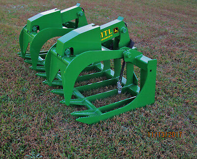 2018 Mtl X-series 72 Root Grapple John Deere Loader-free Ship