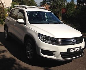 2012 Volkswagen Tiguan 5N 118TSI 5dr Manual 6sp 2WD (MY 12.5) Chatswood Willoughby Area Preview