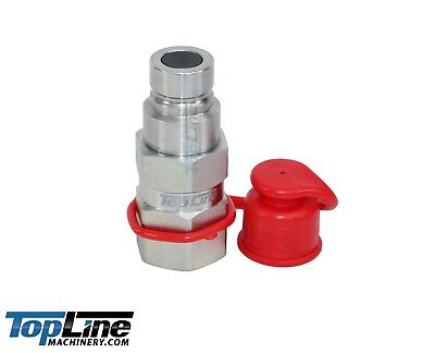 """TL22-M 3/4"""" SAE Thread 1/2 body Flat Face Hydraulic Quick Connect Coupler (Male)"""