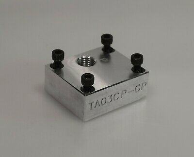 Ta03cp-gp D03 Aluminum Cover Plate With Gauge Port Similar To Daman Ad03cppg