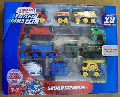Thomas & Friends TrackMaster Sodor Steamies Train Engines Set MINUS ORANGE TRAIN