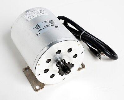 1500w Watt 48v Volt Bldc Electric Motor W Base Boma Bm1024 T8f Sprocket Gokart