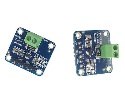 2pcs Ina219 Dc Current Sensor Voltage Test Module Breakout Board I2c For Arduino