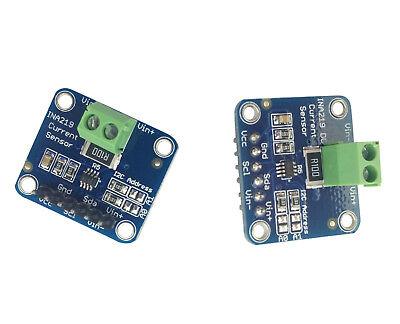 2pcs Ina219 Dc Current Sensor Voltage Test Module Breakout Board I2c For Arduino