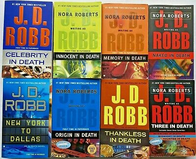 J.D. ROBB ~ Choose the books you want ~ In Death Series ~ Free Shipping