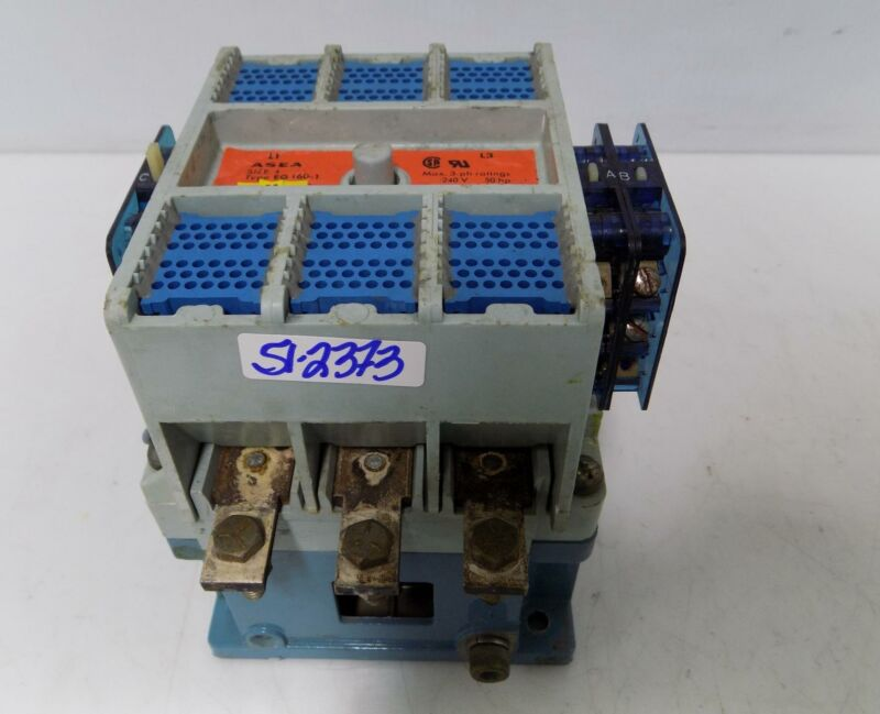 ASEA 160AMP 3 PHASE SIZE 4 CONTACTOR  EG 160-1