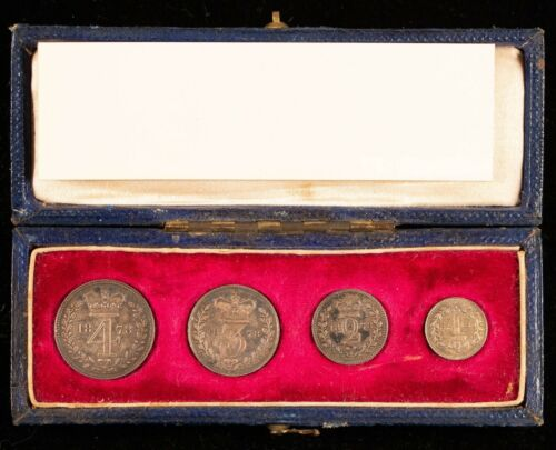 1878 Maundy 4 Coin Set