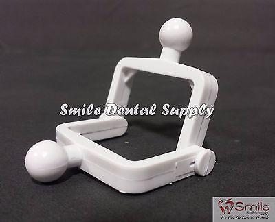 Dental Lab Disposable Plastic Articulator 100 Setswhite - 604