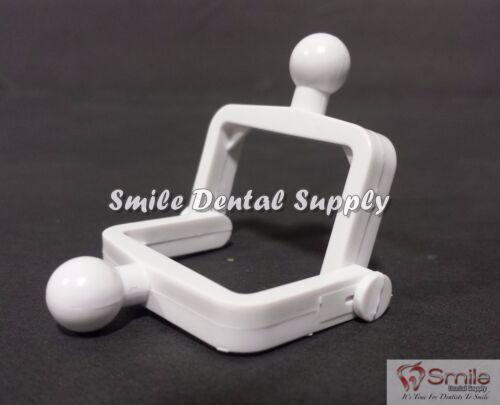 Dental Lab Disposable  Plastic Articulator 100 Sets,White - #604