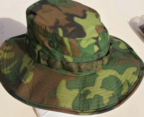 """US VIETNAM WAR """"NOS"""" LEAF PATTERN CAMO RIP/STOP """"BOONIE HATS"""