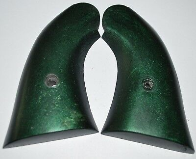 Uberti 1858 large grip frame pistol grips midnight green plastic with screw for sale  Gabbs