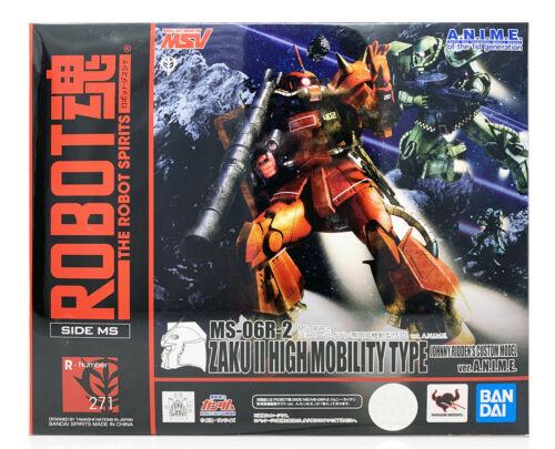 Bandai Robot Spirits MS-06R-2 Zaku II High Mobility Johnny Ridden Custom Figure