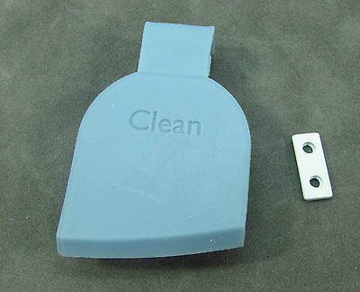 """iRobot Scooba Repair Part - """"CLEAN"""" Rubber Stopper for Tank w/ Retainer Clip"""