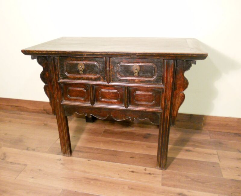 Antique Chinese Ming Cabinet (5571), Circa 1800-1849