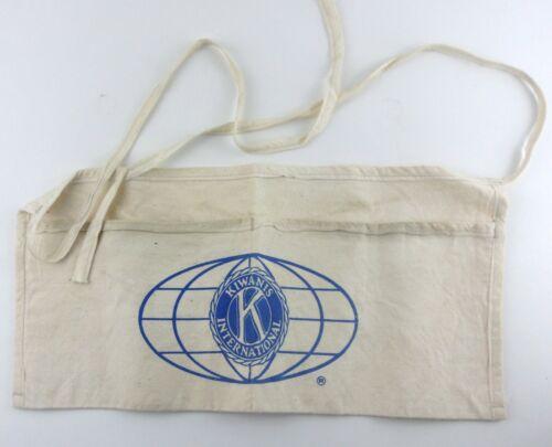 Vintage Kiwanis International Half Apron