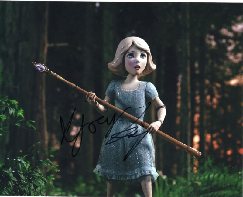 Joey King Oz The Great and Powerful China Girl Signed 8x10 Photo w/COA #4