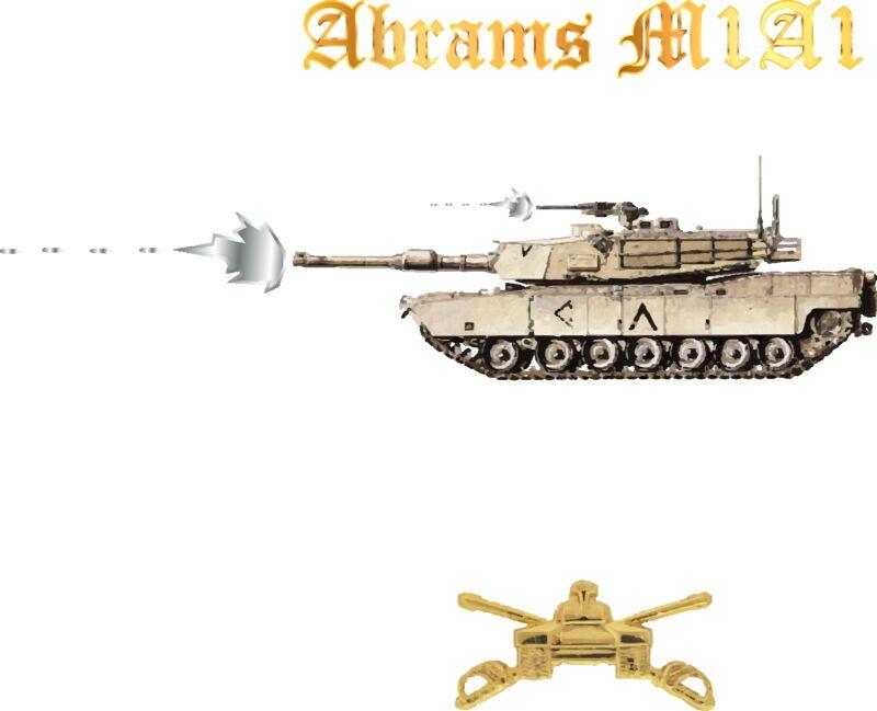 M1 A1 Abrams Tank Iraq War Army Armored Cavalry Unit Crewman Gunner Battle Watch