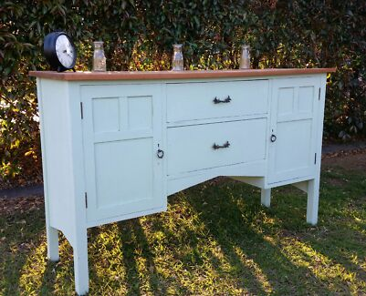 Rustic country buffet sideboard shabby chic home furniture  Griffin Pine Rivers Area Preview