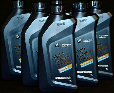 6x1 Liter Original BMW Twin Power Turbo 0W-30 Motoröl Longlife 04 ACEA C3 LL04 online kaufen