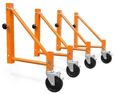 Wen 31104 Baker Scaffold Outriggers With 5-inch Locking Casters 4 Pack