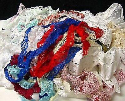 Asst Lace Remnant Pieces 12