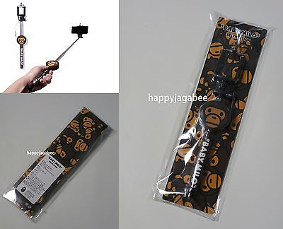 A BATHING APE MILO SELFIE STICK Self-rendering Stick For iphone Gift Japan New