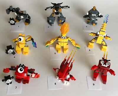 Lego Mixels Series 1 Flain/Vulk/Zorch/Seismo/Shuff/Krader/Volectro/Zaptor/Teslo (Mixels Vulk)