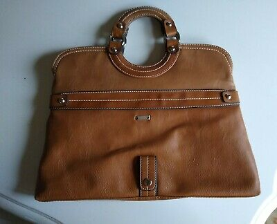 Bellerose brown leather Tote purse