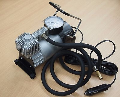 Portable 12V Air Compressor Pump 150psi Tire inflator Kit