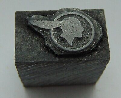 Printing Letterpress Printers Block Lead Pontiac Logo