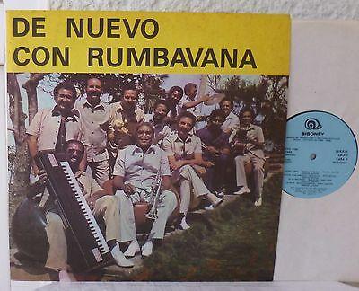 De Nuevo Con RUMBAVANA    AREITO  LP  CUBA  Kuba