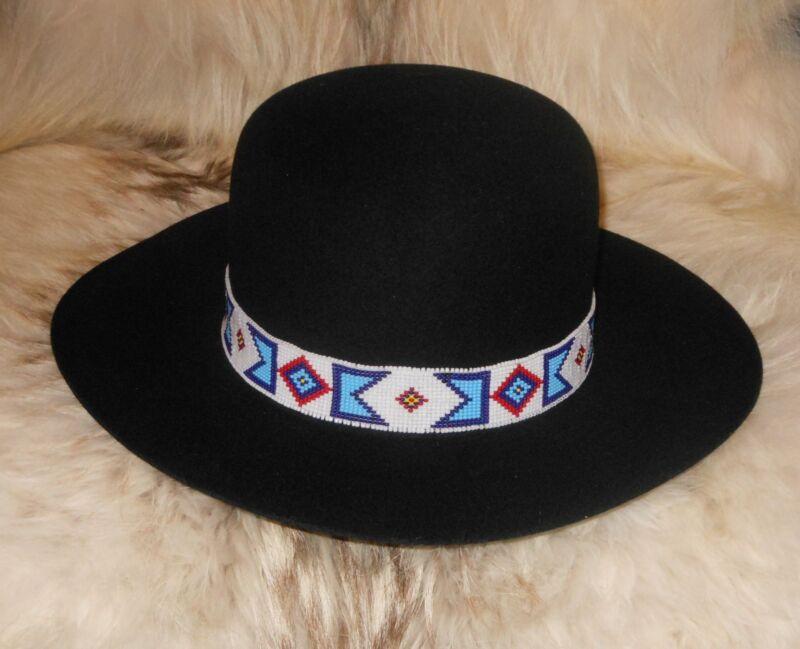 BILLY JACK MOVIE REPLICA HANDLOOMED BEADED HATBAND/AgnoulitaHats Tiller Hat