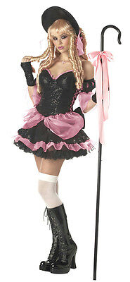 Costumes Little Rock (Rebel Toons Rock 'N Fairytales Sexy Little Bo Peep Adult Costume Size Small)