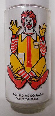 VINTAGE! 1976 McDonald's McDonaldland Collector Glass-Ronald McDonald