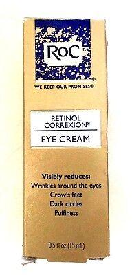 NEW- Roc - Retinol Correxion Eye Cream 0.5 oz
