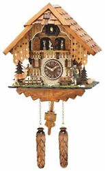 TRADITIONAL HERMLE RHEINBERG CUCKOO WALL CLOCK NEW