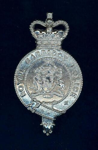 Obsolete- Royal Barbados -  helmet badge