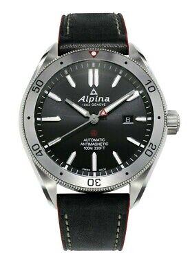 Alpina Men's Automatic Alpiner 4 Anti-Magnetic Leather 44mm Watch AL-525BS5AQ6