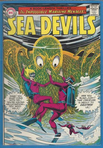 Sea Devils #17 VF 1964 DC Silver Age