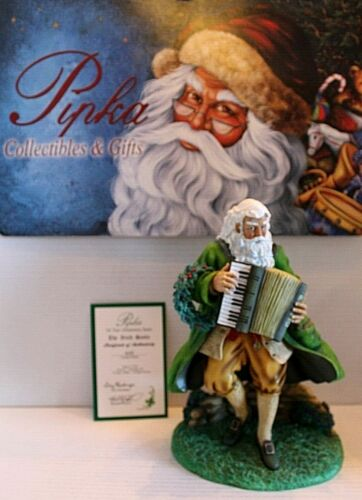 "Pipka Collectible Santa - ""The Irish Santa""  #13926  New in Open Box"