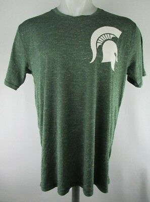 Michigan State Clothing (Michigan State Spartans Men's Knights Apparel Heather Green T-Shirt)